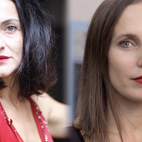 Mariangela Granelli in dialogo con Agata Tomšič